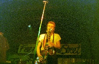 Playing the Sax.