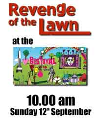 Revenge of the Lawn play at The Bestival on Sunday 12th September at 10.00am.